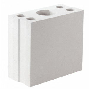 Перегородочный пустотелый пеноблок D500 размером 200х400х600 мм