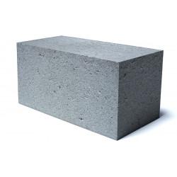 Стеновой полнотелый шлакоблок 100х200х400 мм