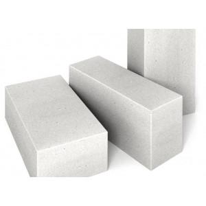 Стеновой полнотелый пеноблок D600 размером 200х200х400 мм