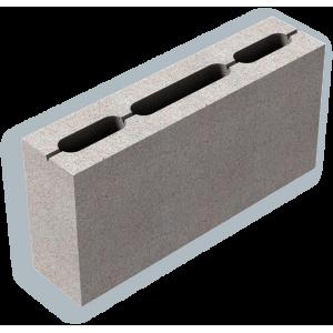 Стеновой пустотелый газоблок Сибит D500 размером 300х400х600 мм