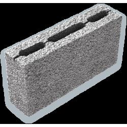 Стеновой керамзитобетоный блок 390х120х188 мм