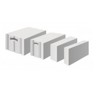 Газосиликатный блок Bikton D400 размером 625х250х300 мм