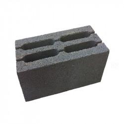 Перегородочный керамзитобетоный блок 390х90х188 мм