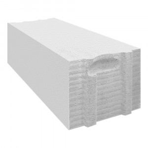 Стеновой полнотелый газоблок Теплон D700 размером 600х300х250 мм