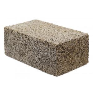 Стеновой полнотелый арболитовый блок 500х250х150 мм
