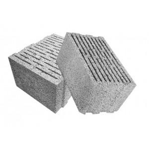 Перегородочный пустотелый керамзитобетоный блок 300х200х400 мм пазогребневый