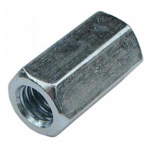 Гайка М16 оцинкованная удлиненная КРЕП-КОМП DIN 6334