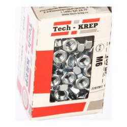 Гайка оцинкованная шестигранная М6 TECH-KREP 200 шт.