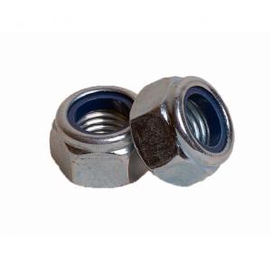 Гайка М3 из нержавеющей стали с контрящим кольцом А2 КРЕП-КОМП DIN 985